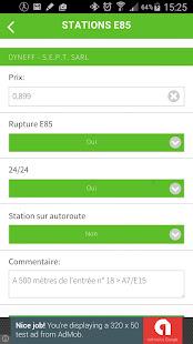 stations e85 applications sur google play. Black Bedroom Furniture Sets. Home Design Ideas