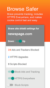 Brave Browser: Fast AdBlock screenshot 1