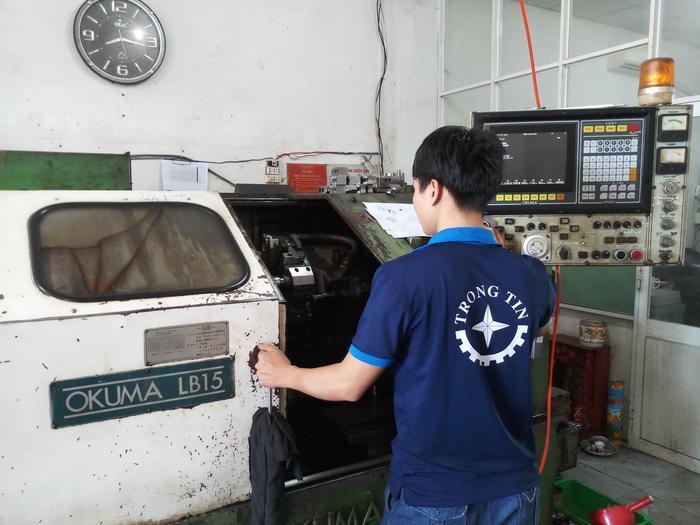 Cơ sở gia công cơ khí inox Trọng Tín