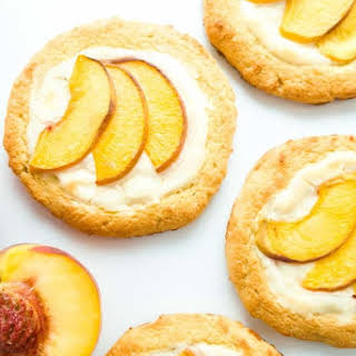 Low Carb Cheese Danish with Peaches (Keto, Gluten-free).