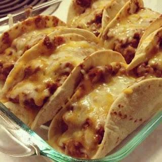 Baked Flour Tacos Recipes