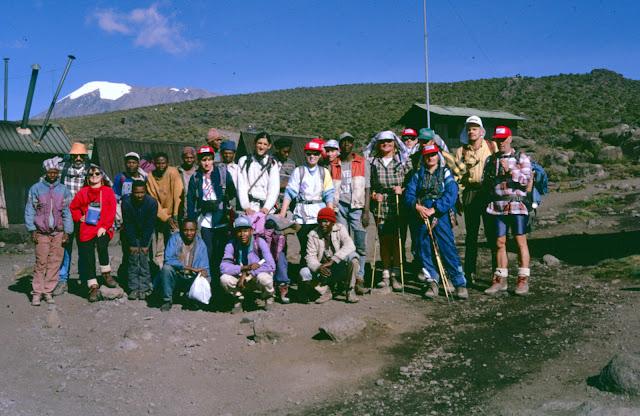 Jaskanska ekspedicija Kilimanjaro 1996.
