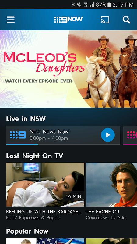 Download 9Now APK 1 10 1 by NINE NETWORK AUSTRALIA PTY LTD - Free