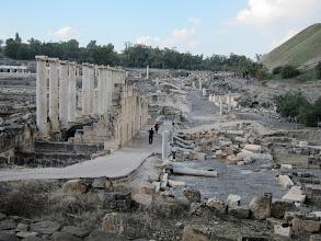 Photo: Ruins of the Decumanus (primary east-west street)