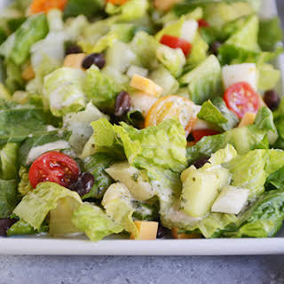 Mexican Chopped Salad with Cilantro-Lime Vinaigrette.