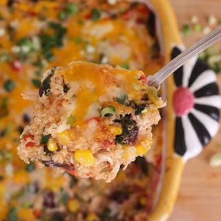Chili Chicken Quinoa Bake