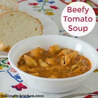 Beefy Tomato Soup.