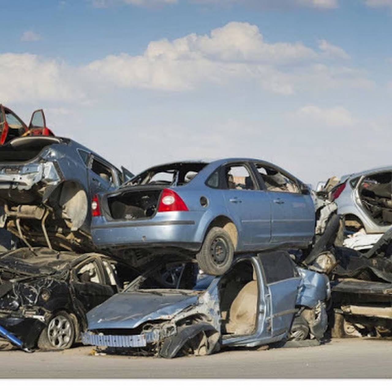 Scrap my car london - Scrap yard