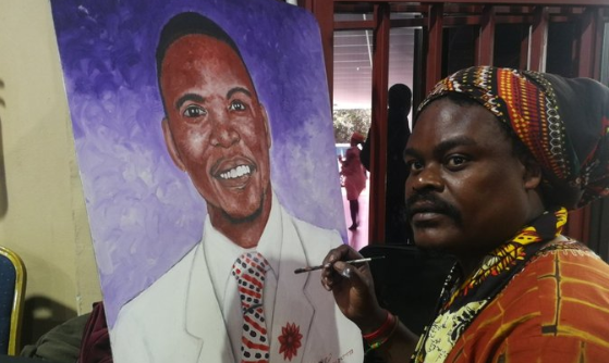 'Take away his brushes': Fans not impressed by Rasta's Neyi Zimu portrait - TimesLIVE