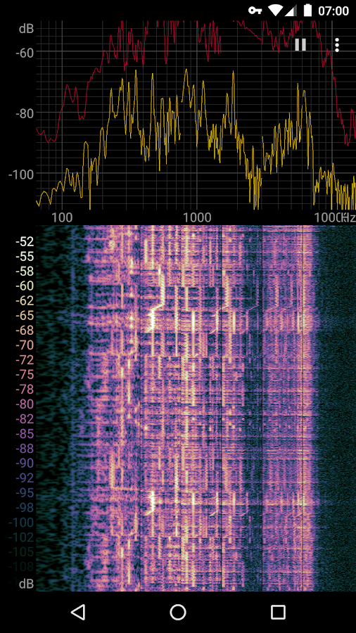 Spectroid- screenshot