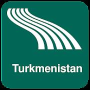 Turkmenistan Map offline