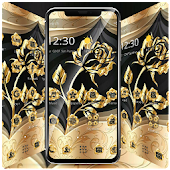 Gold Rose Extravagant Business Theme