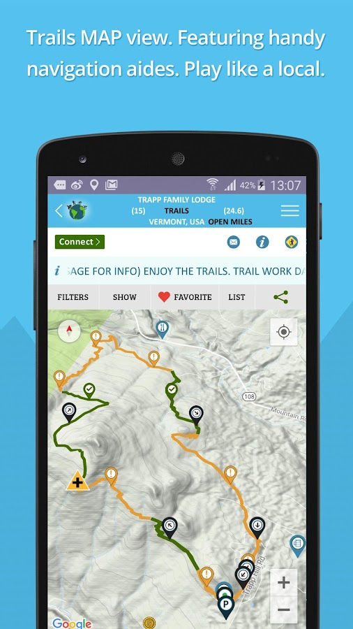 TrailHUB- screenshot