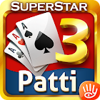 Teen Patti: 3 Patti Superstar Three Cards Poker icon