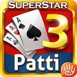 Teen Patti: 3 Patti Superstar Three Cards Poker 21.0