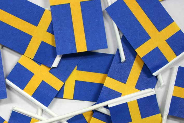 Pappersflaggor