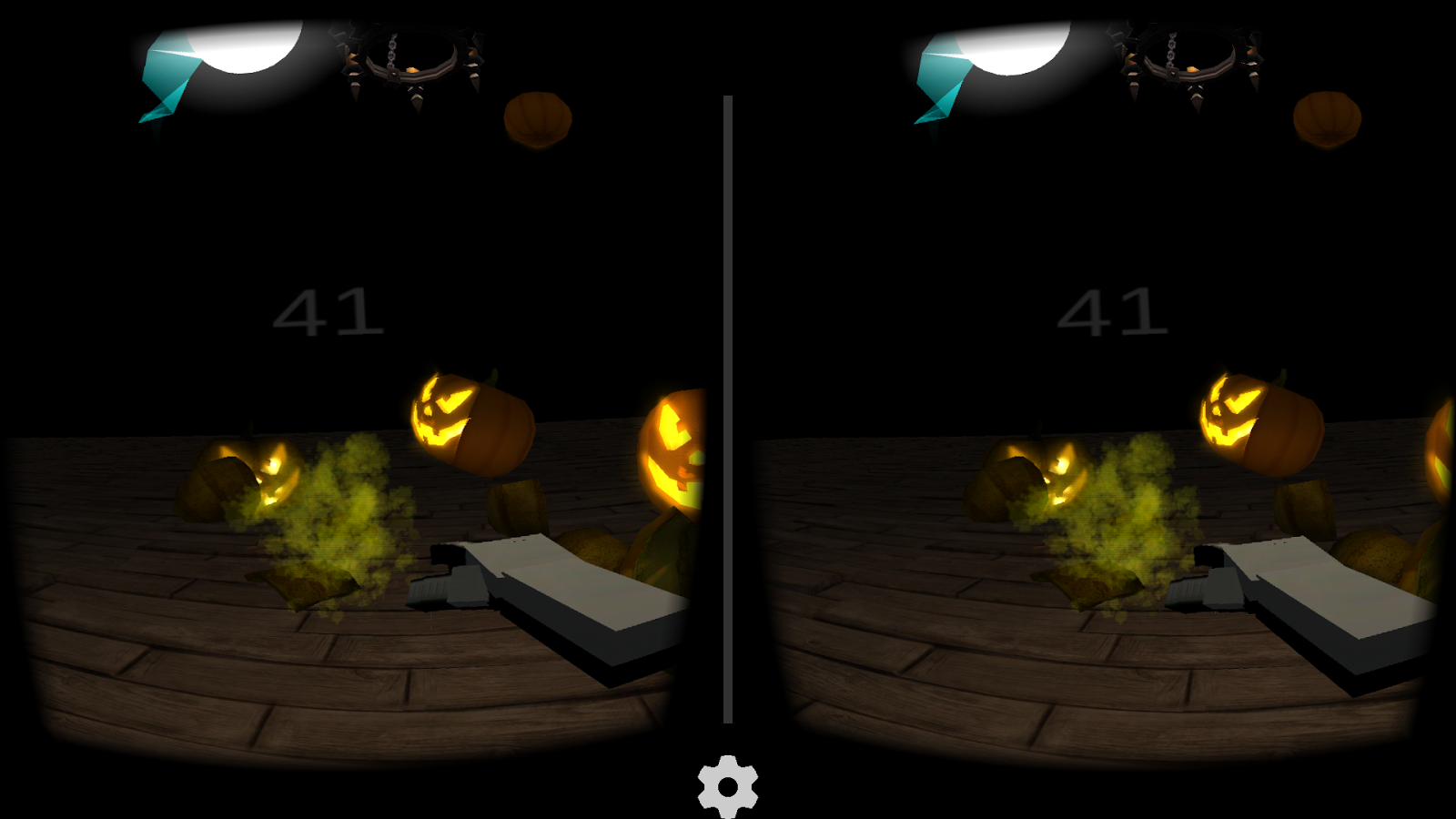 PumpkinVR for Cardboard- screenshot