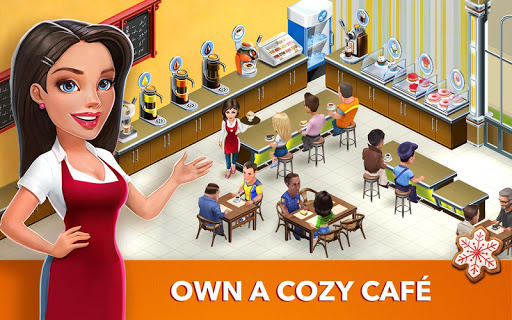 My Cafe: Recipes & Stories game (apk) free download for Android/PC/Windows screenshot