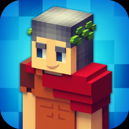 Rome Craft: Ancient Empire Builder. Adventure Game