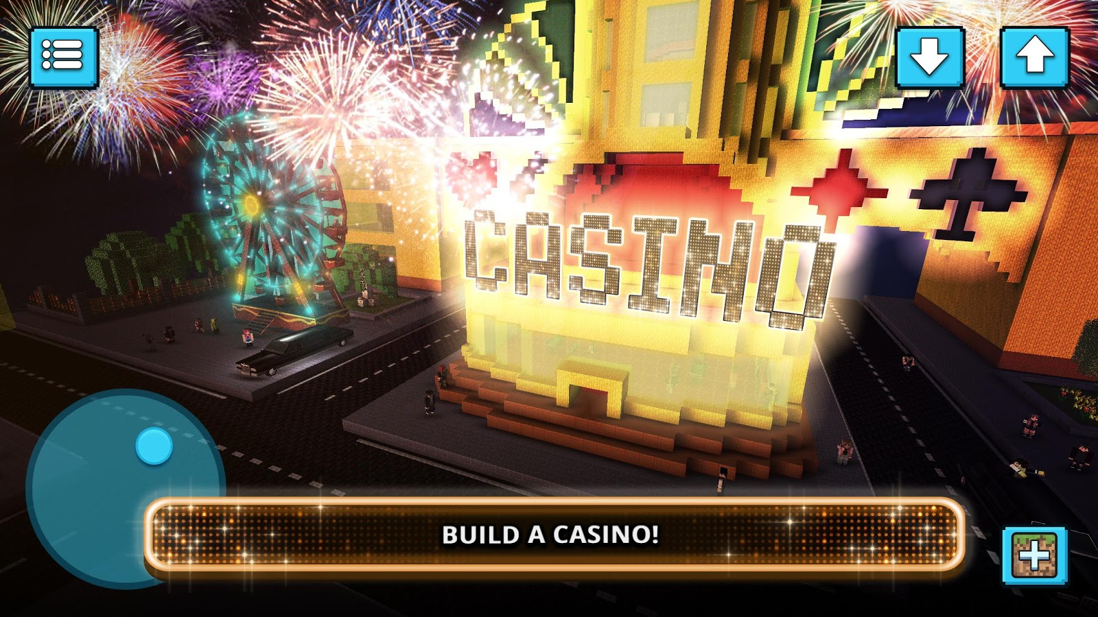 Vegas craft building crafting casino games android for Crafting and building app store