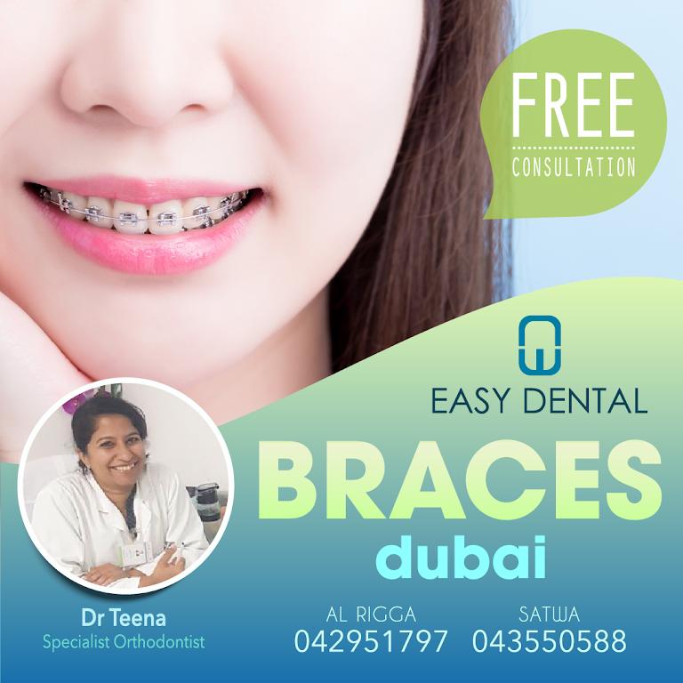Easy Dental Clinic Al Rigga - Best Dentist Braces Dubai