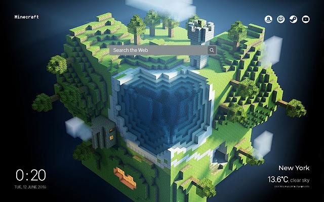 Minecraft Wallpapers & New Tab