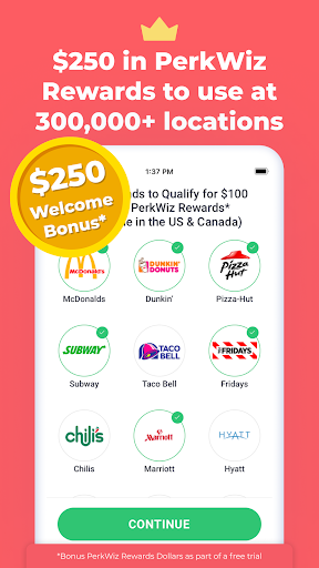 PerkWiz - Get $250 in Rewards New User Bonus Offer ss1