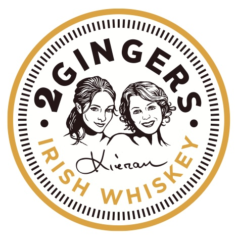 Logo for 2 Gingers Irish Whiskey