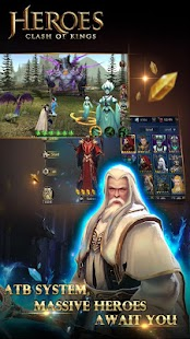 Heroes War: Summoners & Monsters & Gods- screenshot thumbnail