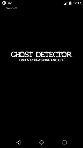 Ghost Detector - Supernatural
