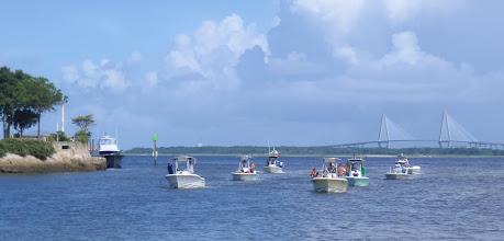 Photo: 4th of July in Charleston Harbor