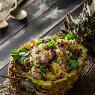 Pineapple Fried Rice (adapted from Adam Liaw's Asian After Work)