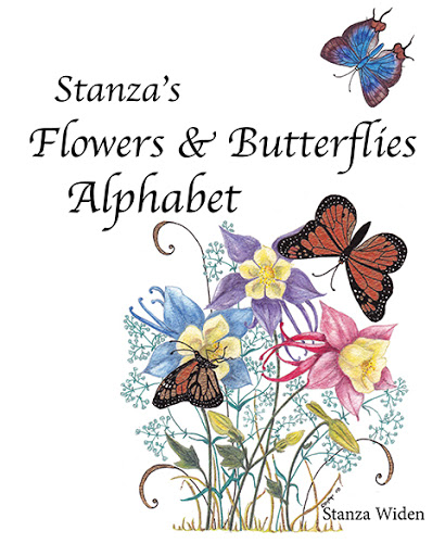 Stanza's Flowers and Butterflies Alphabet cover