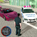 US Police Crime Rope Hero Real Gangster Simulator icon