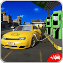 Electric Car Taxi Driver: NY City Cab Taxi Games icon