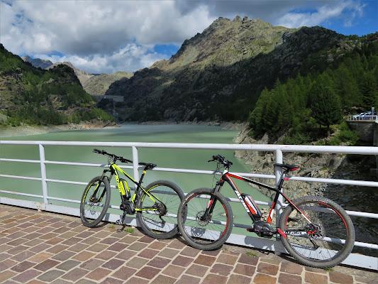 E-bike e Dighe CampoMoro e AlpeGera di Laucol
