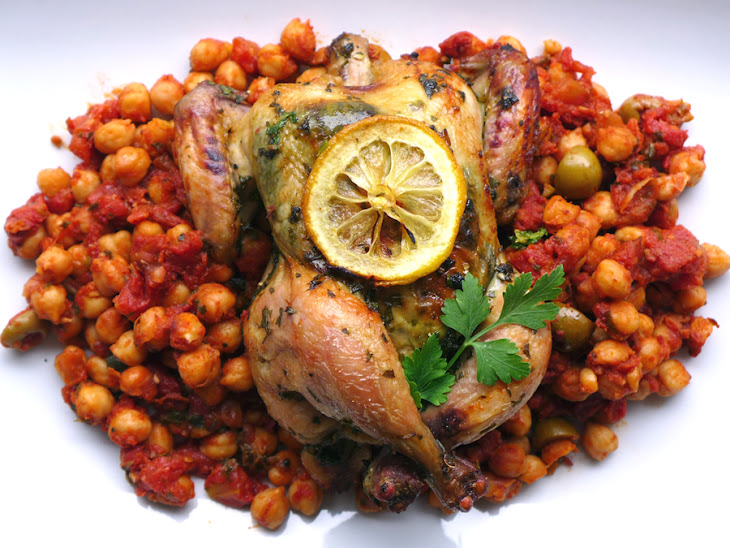Chermoula Chicken with Fiery Chickpeas Recipe