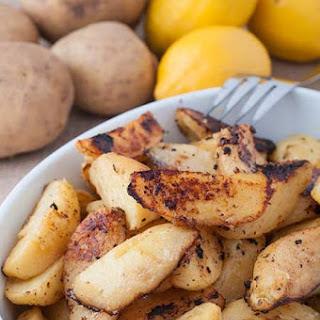 Greek Style Roasted Lemon Potatoes.