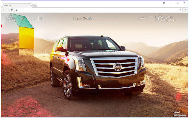 Cadillac Wallpapers HD New Tab Themes