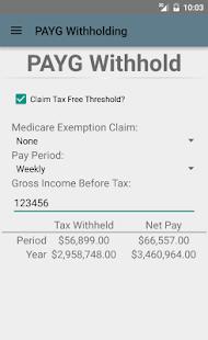 Aussie Tax Calculator Free- screenshot thumbnail