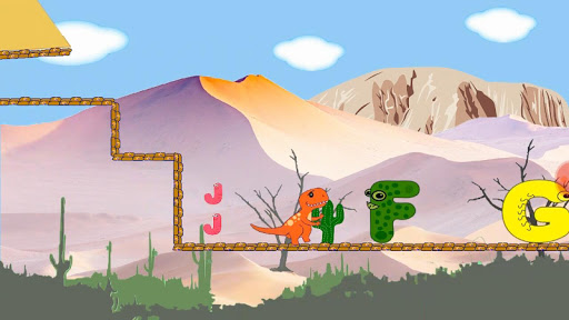 Dino ABC and puzzles - screenshot