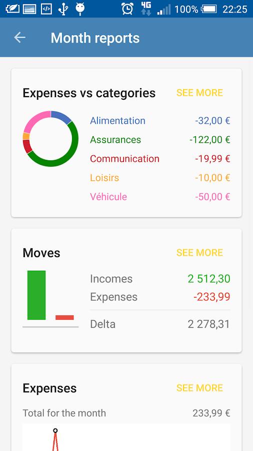 AFinance - screenshot