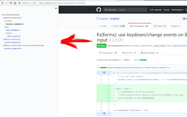 Pretty pull-request viewer for GitHub