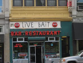 Photo: Live bait ~ Raw Bar ~ Any questions?