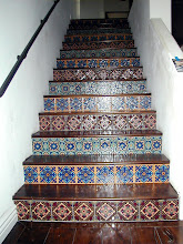 Photo: Malibu Tile Works - Riser Tiles Private Residence - Malibu, CA