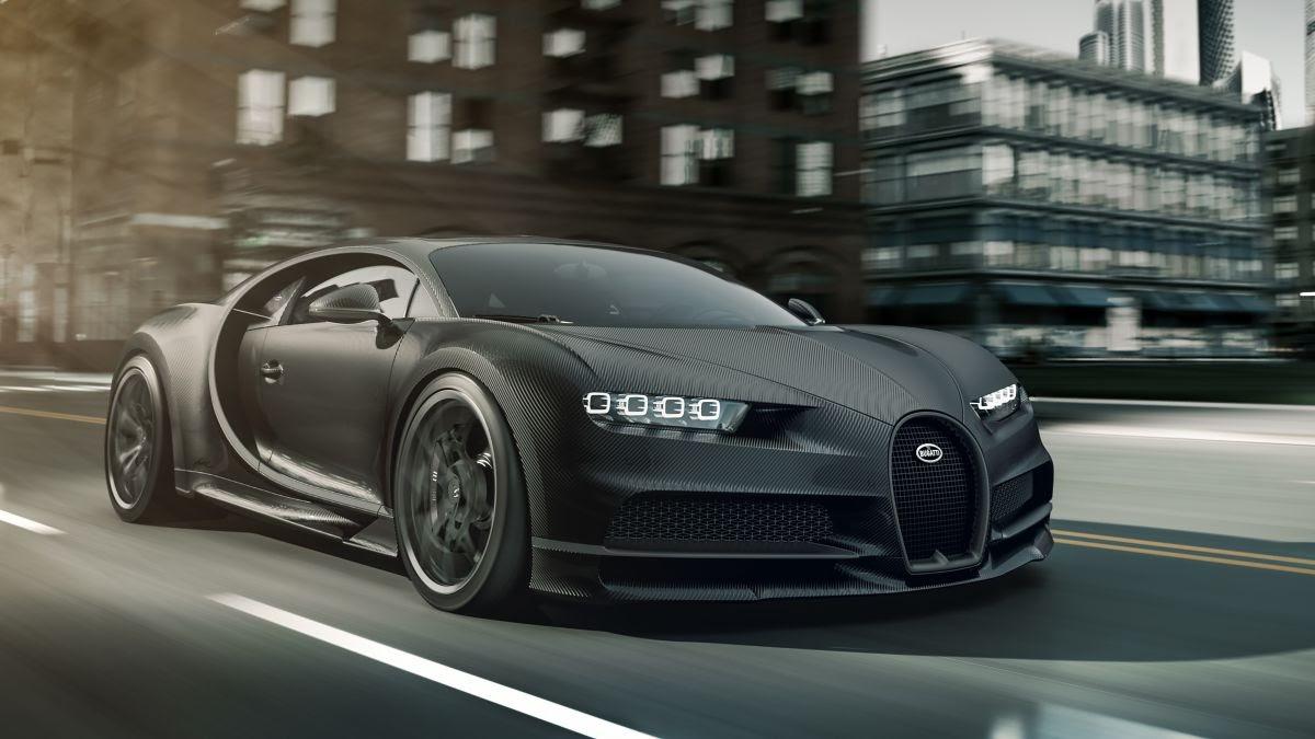 Bugatti presents special edition Chiron Noire