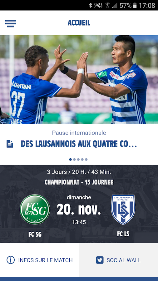 FC Lausanne-Sport- screenshot