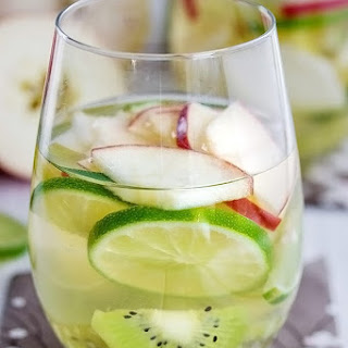 Apple and Pear Green Sangria.