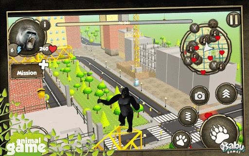 憤怒的大猩猩攻擊模擬器
