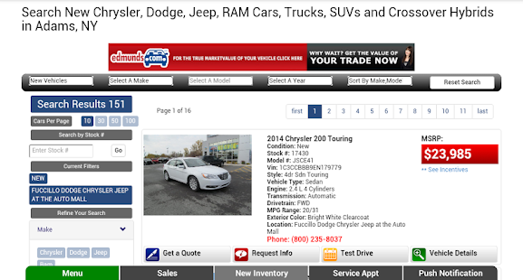 Fuccillo Dodge Chrysler Jeep- screenshot thumbnail